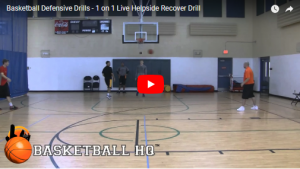 Basketball Drills Helpside Recover