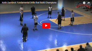 Basketball Drills Circle Trap