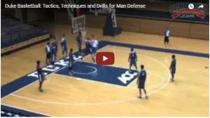 Basketball Drills Duke 3 on 3 Defense