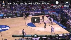Basketball Plays from 2013 NCAA Tourney