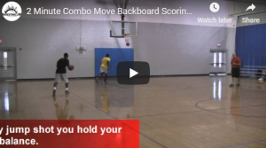 Basketball Drills 2 Minute Combo Move Backboard Scoring