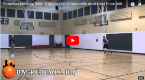 Basketball Drills 2 Minute Weak Hand Combo