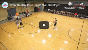 Coaching Basketball Tight Curl Footwork