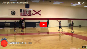 Basketball Drills: Championship Toughness Shooting Drill