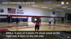 Combination Guard Scoring Drill