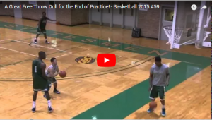 Consecutive Free Throws Drill