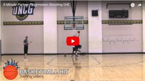 8 Minute Shooting Progression Drill