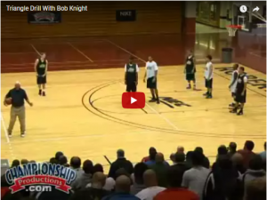 Bob Knight Man to Man Offense Concepts