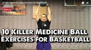 Medicine Ball Exercises for Basketball