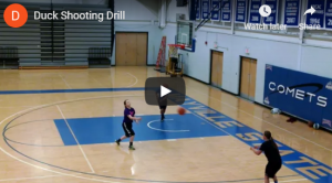 "Duck and ""W"" Basketball Shooting Drills"