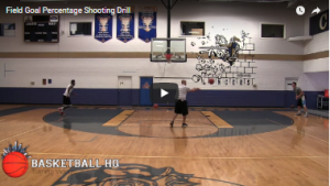 Field Goal Percentage Shooting Drill