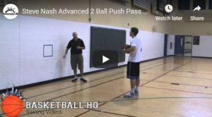 Steve Nash Push Pass Drill