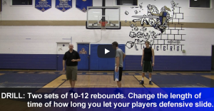 Reverse Reaction Rebounding Drill