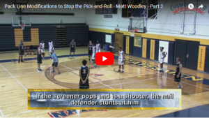 Icing a Side Pick and Roll