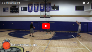3 2 3 Competitive Shooting Drill