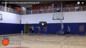 Ball Screen Finishing Drill
