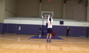Kelsey Plum 99 Shooting Drill