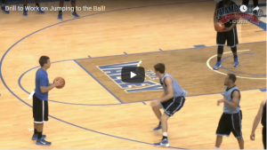 Greg Lansing 3-Line Closeout Drill