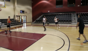 Validation Competitive Basketball  Shooting Drill