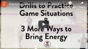 Game Situation Trapping and Passing Drills