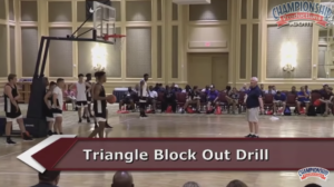 Bob Hurley's Triangle Block Out Drill