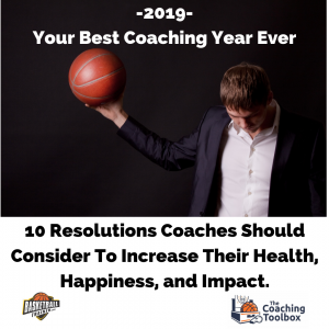 Basketball Coaching Stress – Resolutions for Impact