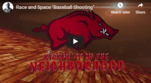 Race and Space Shooting Drill
