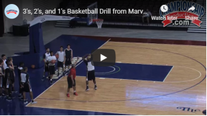 Marvin Menzies 3-2-1 Shooting Drill