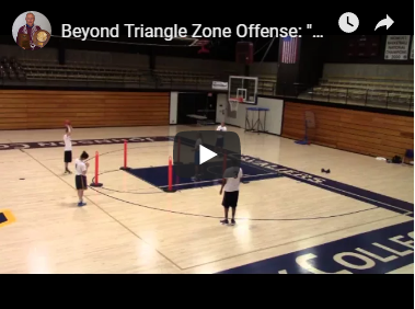 Attacking a 1-2-2 Defense -