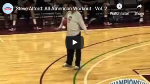 Basketball Drills Alford Toughness Shooting