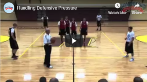 Basketball Drills Handling Defensive Pressure