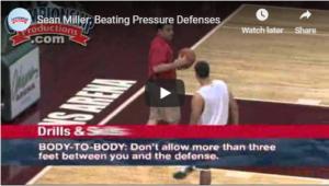 Basketball Drills Sean Miller Beating Pressure
