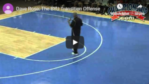 Basketball Drills Transition Buildup