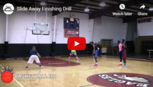 Slide Away Basketball Finishing Drill