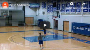 Beilein 50 in 5 Shooting Drill