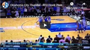 Basketball Plays: Sideline Inbounds
