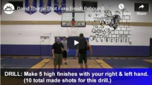 Shot Fake and Finish Rebounding Drill