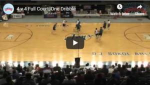 Basketball Drills 4 on 4 Full Court Pickup
