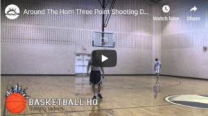 Basketball Shooting Drills Around the Horn & Baseball
