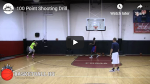 100 Point Shooting Drill