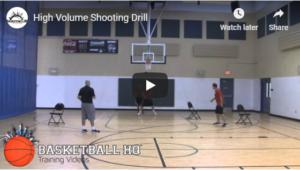 High Volume Shooting Drill