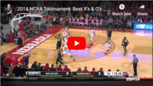 Basketball Plays from 2014 NCAA Tournament