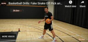 Fake Snake Pick and Roll Drill
