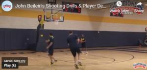 John Beilein 7 and 11 Shooting Drill