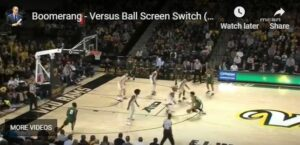 Boomerang vs. Ball Screen Switch