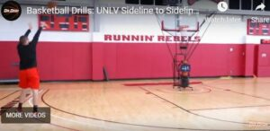 TJ Otzelberger Sideline to Sideline Shooting Drill