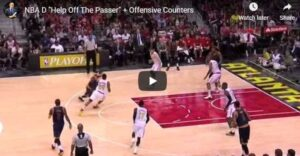 Offensive Counters to Defense Helping off the Passer