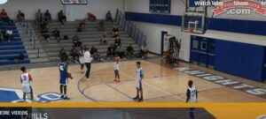 2 on 2 Read the Chest Defensive Drill