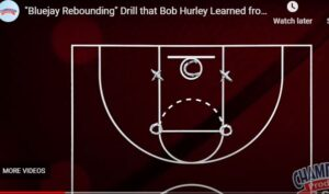 Bluejay Offensive Rebounding Drill