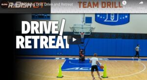 Drive and Retreat Shooting Drill